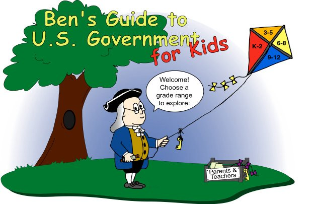 Ben's Guide to U.S. Government for Kids (Image Map)